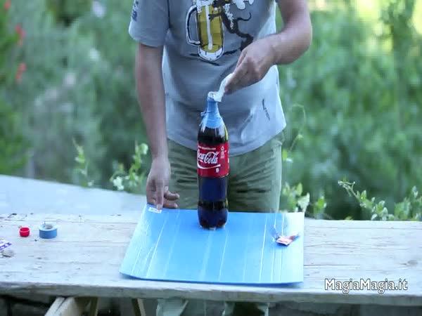 Pokus - Cola, Mentos a Kondom