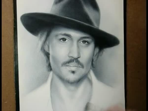 Kreslení - Johnny Depp