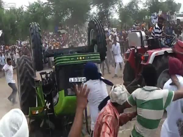 Traktor vs. traktor