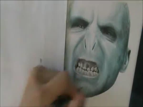Kreslení - Voldemort