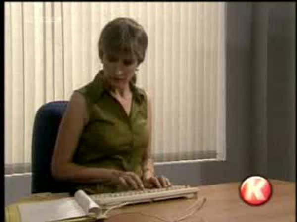 Old school sekretářka