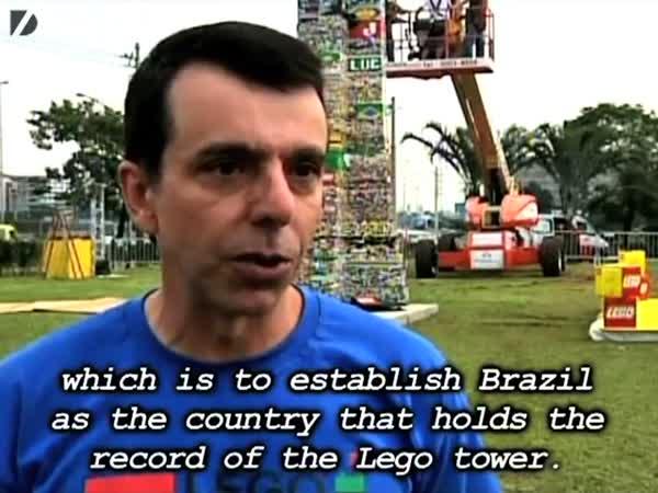Nejvyšší věž z LEGA