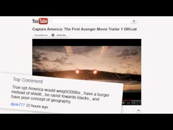 Nejvtipnější komentáře - Youtube