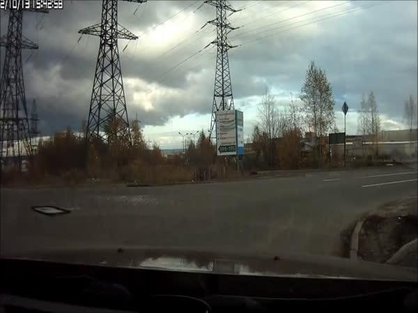 Nehoda - Nepřipoutaný řidič
