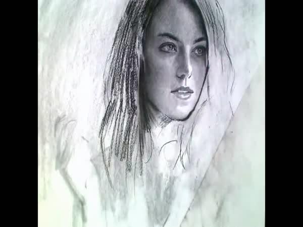 Kreslení - Emma Stone