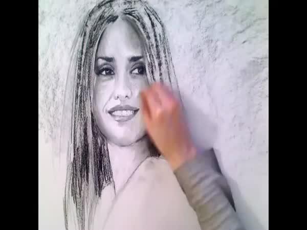 Kreslení - Penélope Cruz