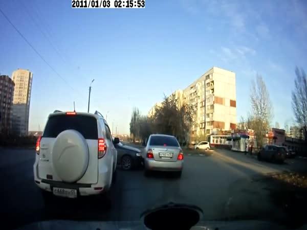 Nehoda - Blbec za volantem