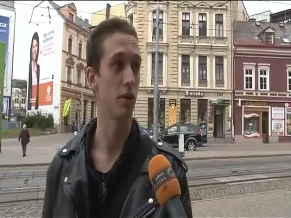 Mladý Čech přiznal barvu
