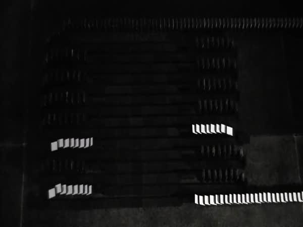 Domino - světelné efekty