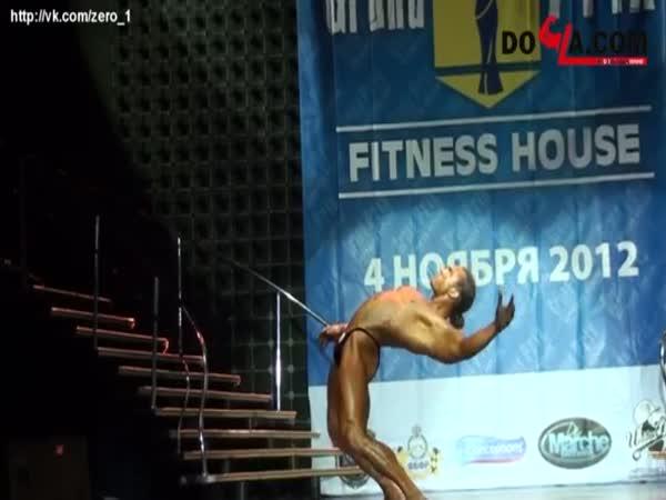 Borec - Kulturistický robotí tanec