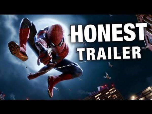 Amazing Spider-Man - upřímný trailer