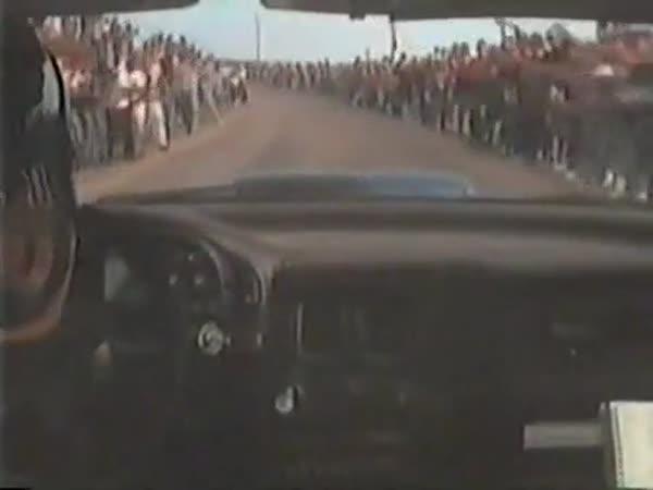 Rallye - Odvážní diváci