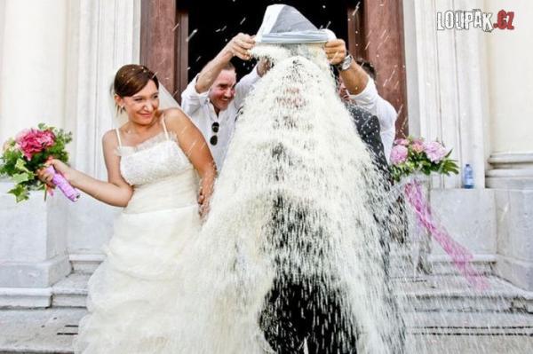 OBRÁZKY - Originální svatební fotky