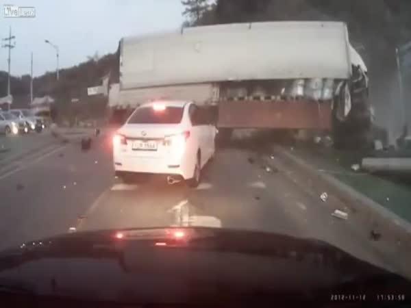 Štěstí při nehodě