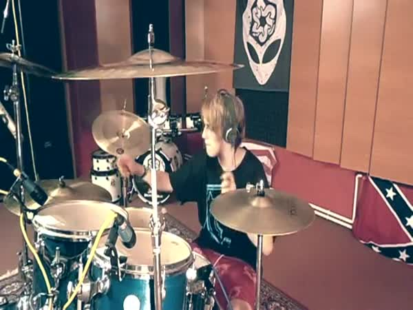 Talentovaný bubeník