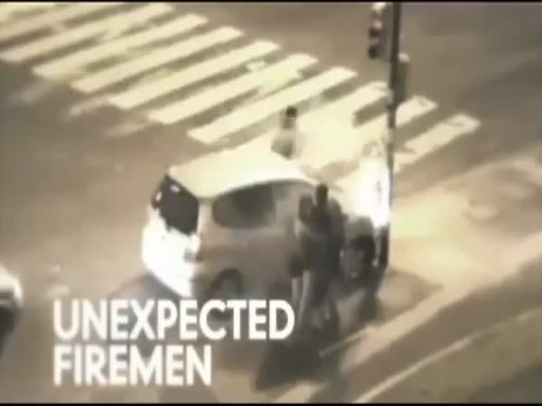 Veselé záběry z bezpečnostních kamer