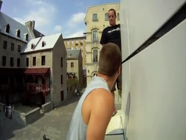 Triky na trampolíně #2