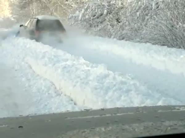 Ruští řidiči jsou opravdu trpěliví