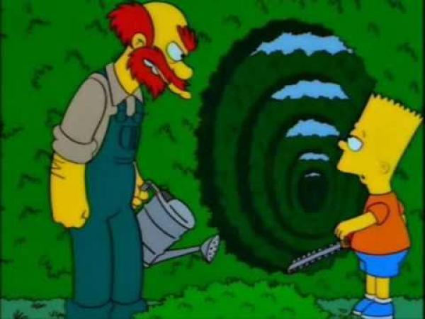 Simpsonovi - Bludiště