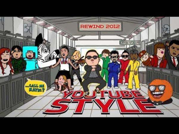 YouTube Style 2012