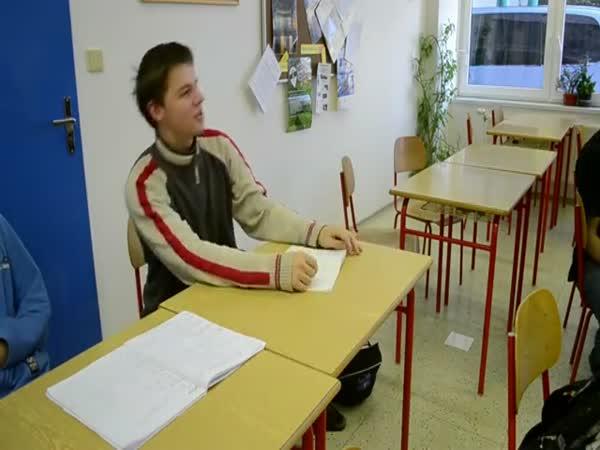 Debilní kecy studentů