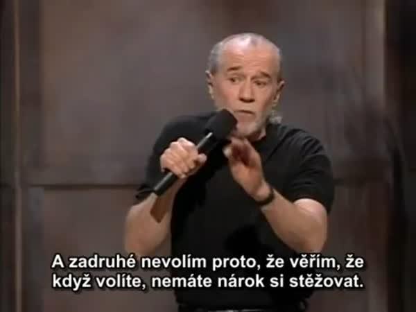 George Carlin - O politicích