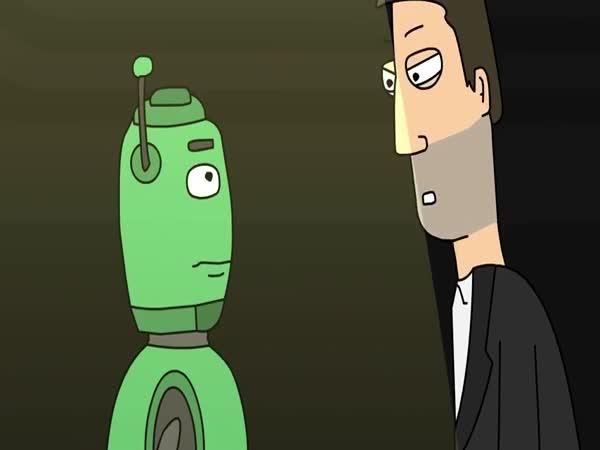 Animace - MM Výslech robota