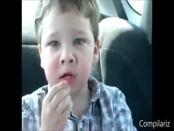 Děti vs. kyselé bonbóny