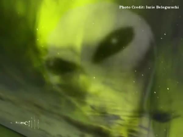 Děsivá tvář na obloze