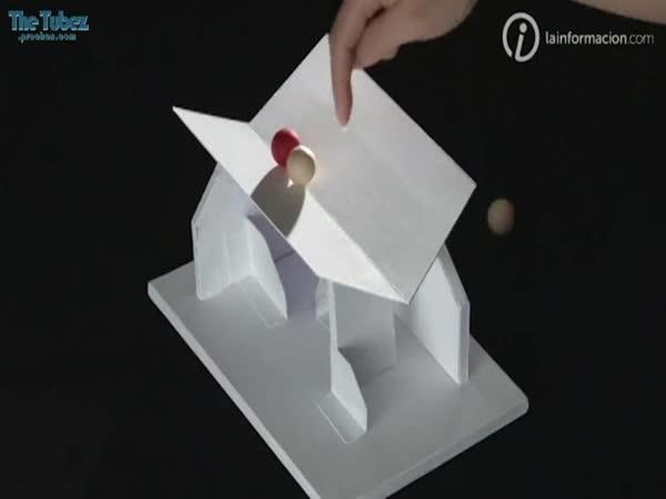 Optická iluze - střecha