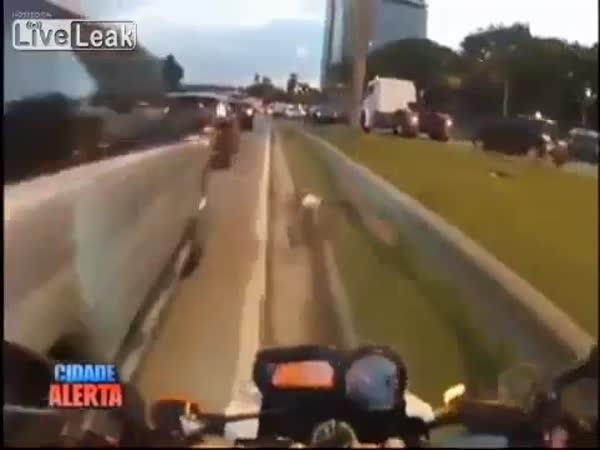 Brazilský motorkář - Rychle a zběsile