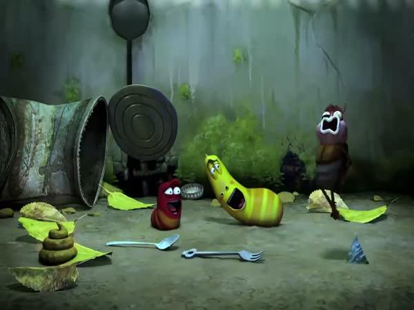Animace - Larva 1.díl - Smích
