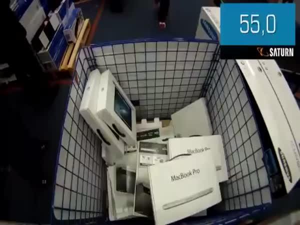 150 sekund nakupování zdarma