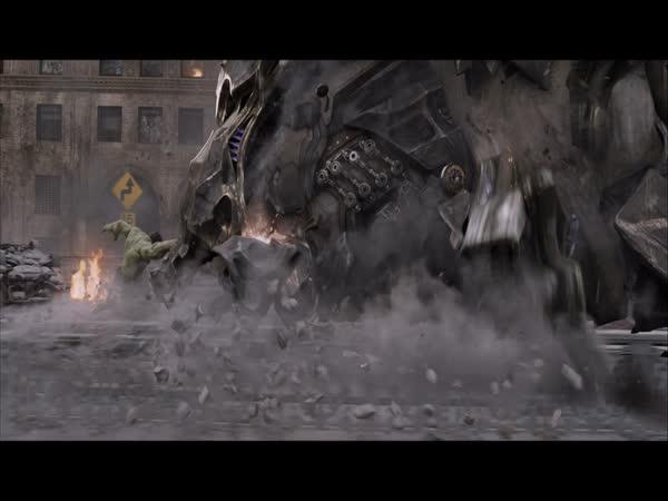 Moc vizuálních efektů 7.díl - Avengers