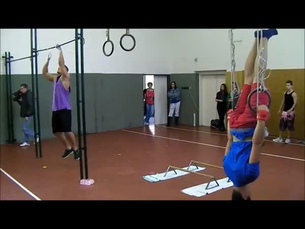 Adam Raw - tvrdý trénink