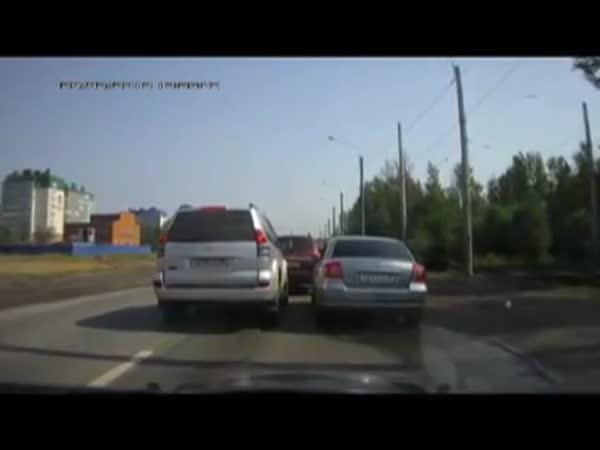 Drzý řidič a jeho pomsta