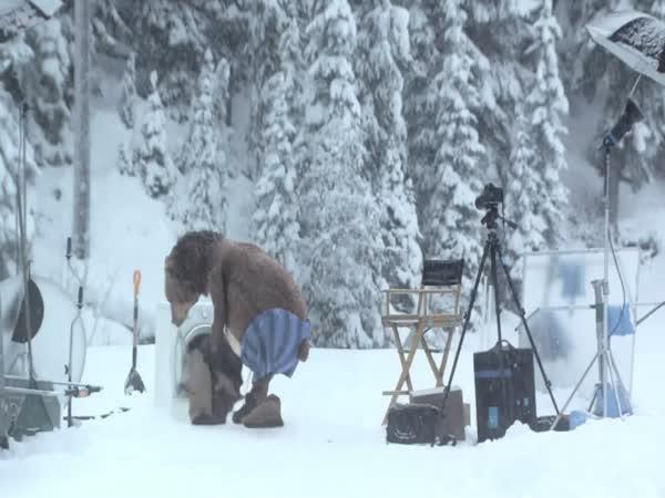 Natáčení - Medvědí překvapení
