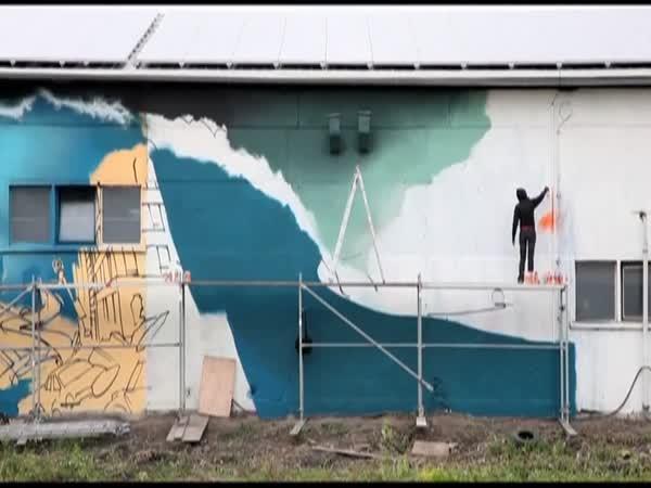 Profesionální graffiti