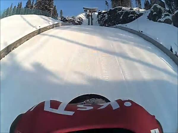 Kamera - Skoky na lyžích