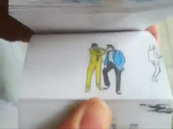 Animace pomocí papírků - Gangnam style