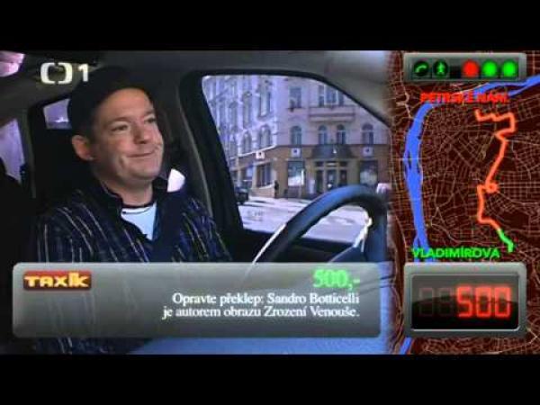 Největší tupec v pořadu Taxík