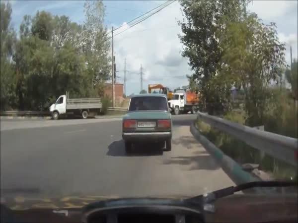 Nehoda - Boční náraz