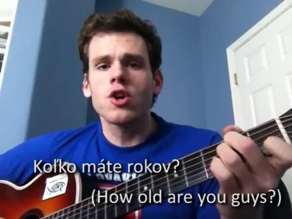 Song pro Slováky z Kalifornie