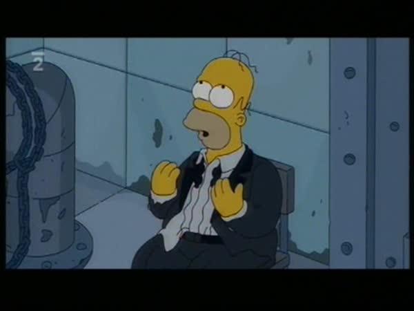 Simpsonovi - Homer ve hře Saw