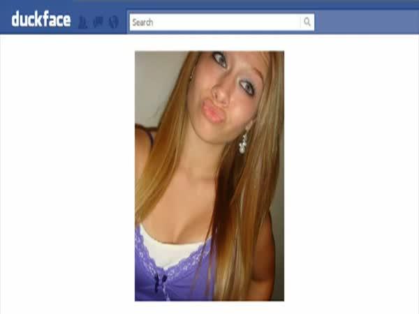 Facebook - Duckface