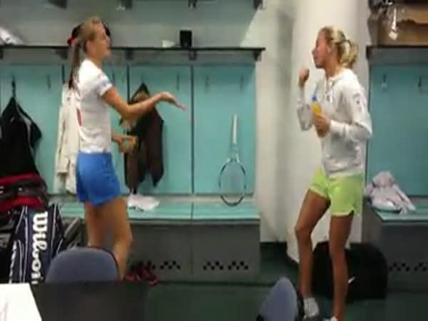 Česká republika - Oslava tenistek