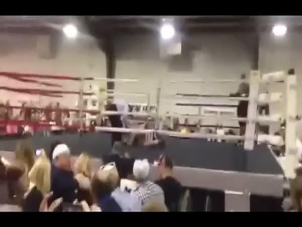 Boxerovi selžou nohy