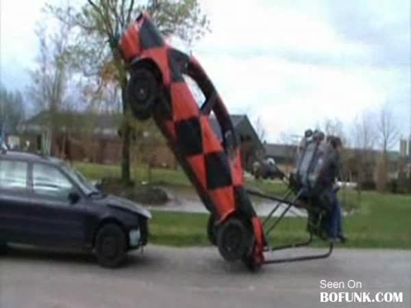 Blbnutí s auty