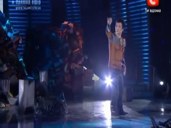 Skvělý robotický tanečník