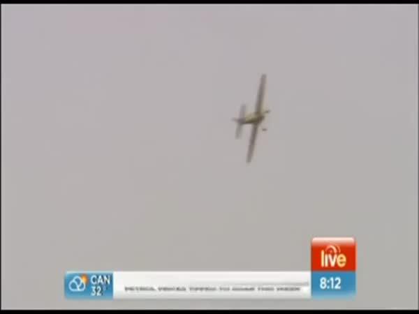 Reportáž z akrobatického letadla